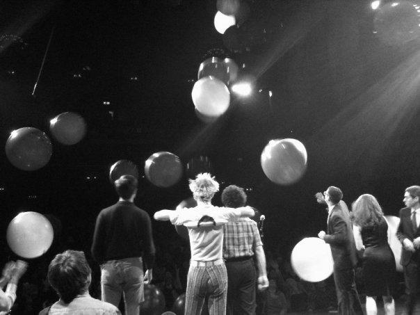 Massive Balloon Drop of NYE 2011